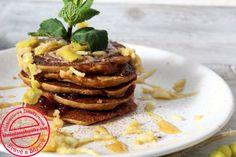 Dýňové lívance s kaštanovou moukou – Histaminová Kašulka Pancakes, Breakfast, Food, Morning Coffee, Essen, Pancake, Meals, Yemek, Eten