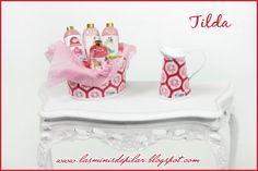 Pilar Alen Miniaturas: Conjunto Tilda rojo