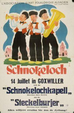 Willy Fischer Schnokeloch, 14 juillet in Goxwiller