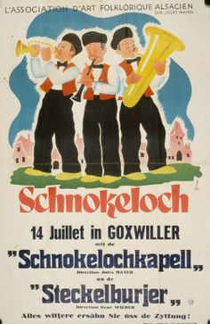 Willy Fischer Schnokeloch, 14 juillet in Goxwiller