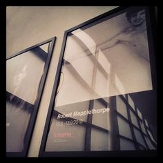 #RobertMapplethorpe #poster #Kiasma #reflections