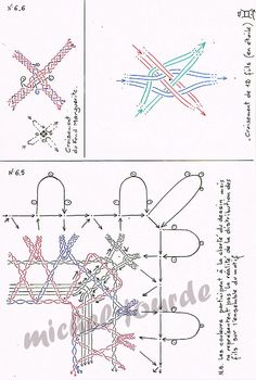 Lace Formación - micheljourde.over-blog.com Tunisian Crochet Patterns, Bobbin Lace Patterns, Hairpin Lace, Lace Heart, Lace Jewelry, Ribbon Work, Lace Making, Lace Detail, Tatting