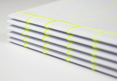 Saddle Stitch Inspiration - Neon thread! Fuck yeah.