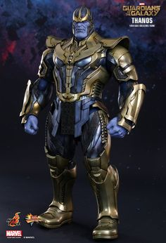Thanos : Guardians of the Galaxy Collector's Action Figure .
