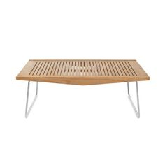 The Boomerang Rectangular Coffee Table From Summit Furniture