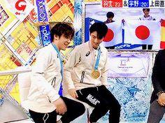"shoma-uno: """"Shoma Uno, Olympic Silver Medalist, vs. a chair (x)"" """
