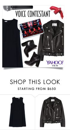 """""""The Voice"""" by aanchal-w ❤ liked on Polyvore featuring Jil Sander, Acne Studios, Pierre Hardy, Elizabeth Arden, thevoice and YahooView"""
