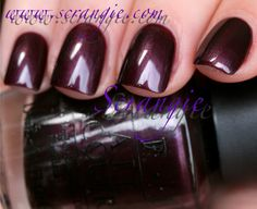 """Scrangie: OPI Holland Collection for Spring/Summer 2012 Swatches and Review    """"Vampsterdam"""""""