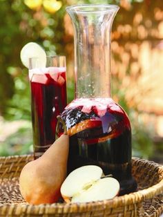 Mexican Fruit Sangria from Muy Bueno featured in @The Nest.