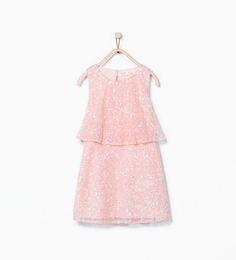 Bild 3 von Doppellagiges Kleid mit Pailletten von Zara