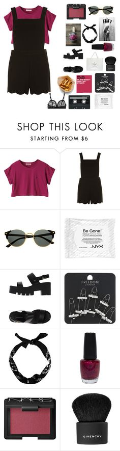 """I don't even like you"" by bossbby11 ❤ liked on Polyvore featuring Dorothy Perkins, NYX, Windsor Smith, Topshop, OPI, NARS Cosmetics, Givenchy, CASSETTE, Eres and women's clothing"