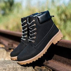 Autumn&winter Boot Male High-cut Male Casual England Style Large Size Work Worker Boot Male Boot