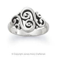 Spanish Swirl Ring from James Avery