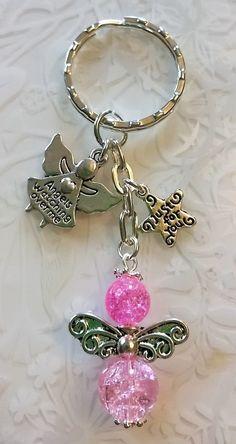 Diy Jewelry Charms Key Chains 67 New Ideas Diy Jewelry Charms, Diy Jewelry Rings, Charm Jewelry, Jewelry Crafts, Beaded Jewelry, Handmade Jewelry, Jewelry Making, Jewelry Ideas, Beaded Angels