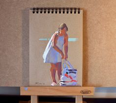 Lena Rivo's Painting Blog: Gouache sketch