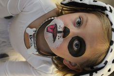 Simple doggie Face paint