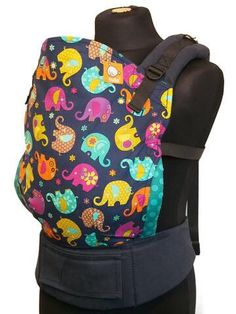 Canvas - EU Exclusive 'TOP TRUNK' Tula Baby Carrier; Released late 2014