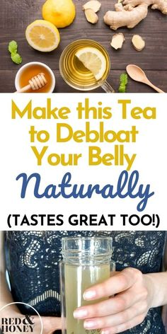 How to Debloat Your Stomach Quickly (Easy Tea Remedy)