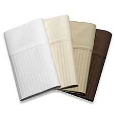 image of Palais Royale 630 Stripe 100% Egyptian Cotton Sheet Sets and Pillowcases