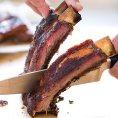 Traditional Texas Barbecued Beef Ribs are placed in pits for up to 10 hours. The low heat and smoke slowly permeate the meat, melting away fat, building flavor, and creating unforgettable crust. We streamline our recipe for the backyard grill so anyone can make it at home.