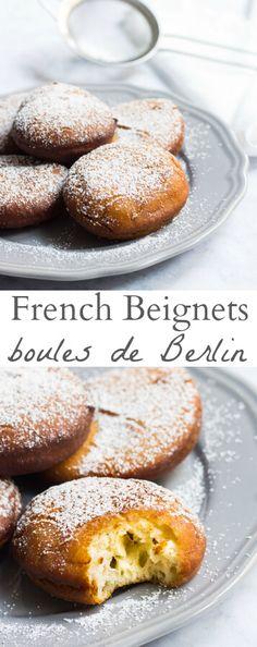 Puffy, sweet French beignets. Recipe via MonPetitFour.com