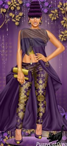 Purple delight! #dressupgames #fashiongames
