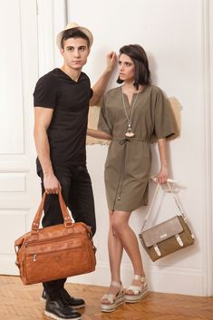 A fresh approach to minimal look. The perfect transition contemporary outfit for spring. Explore new accessories collection for him & her Key Items: High-waist Trousers, Loose Dresses, Earth-Tone Accessories Minimal Look, Loose Dresses, Spring Outfits, High Waist, Trousers, Earth, Urban, Key, Shirt Dress