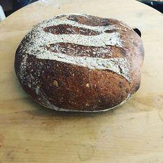 They cant all be beautiful. #breadbaking #realbread #godtno #bread #sourdough