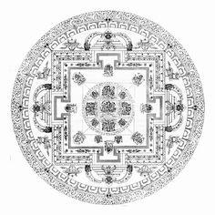 VIVIR EL ARTE: Mandalas,mandalas tibetanos