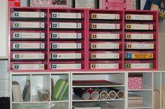 Scraproom: My Cricut Storage