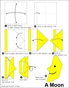 origami A moont