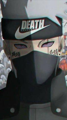Kakashi Nike Death wallpaper by - ca - Free on ZEDGE™ Naruto Kakashi, Anime Naruto, Naruto Uzumaki Shippuden, Sasuke Akatsuki, Naruto Cool, Naruto Wallpaper Iphone, Naruto And Sasuke Wallpaper, Wallpaper Naruto Shippuden, Anime Characters
