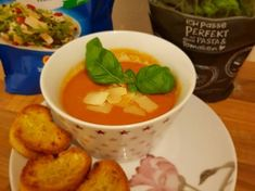 Olasz zöldségleves | Scriptum receptje - Cookpad receptek Pasta, Thai Red Curry, Soup, Meat, Chicken, Ethnic Recipes, Soups, Cubs, Pasta Recipes