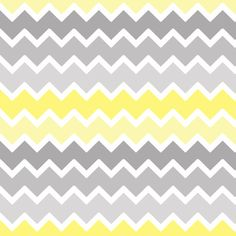 yellow grey gray ombre chevron zigzag pattern fabric by decamp_studios on Spoonflower - custom fabric