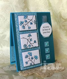 Love the various elements on this card