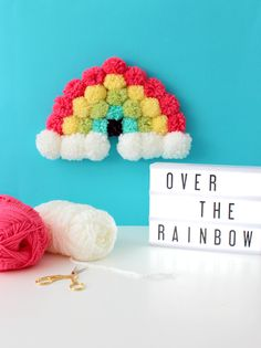 After my last post, I have rainbows on my mind. It's also my way of wishing that Spring would just come already. A little rain and mild weather thi