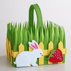 Basket Easter Ideas Mothers 45 Ideas For 2019 Easter Art, Easter Crafts, Easter Bunny, Easter Ideas, Felt Crafts, Crafts To Make, Preschool Crafts, Crafts For Kids, Diy Ostern