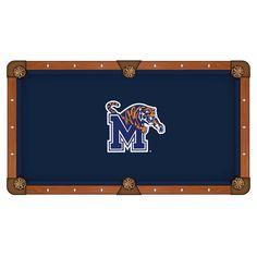 Memphis Tigers Pool Table Cloth