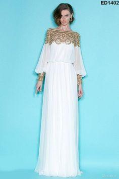 Caftan Abaya jalabiya Damen Maxi Dress von Kunsthandwerkfüralle auf DaWanda.com