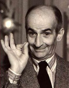 Louis de Funès - my Idol. I love him sooo much. His name by it´s self sum up my childhood. Real Star, French People, Interesting Faces, Best Actor, Comedians, Childhood Memories, Movie Stars, Actors & Actresses, Comedy Actors