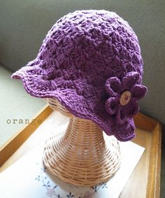 crochet hat * for kids...but I want it for me.