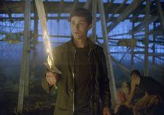 Logan Lerman es Percy Jackson
