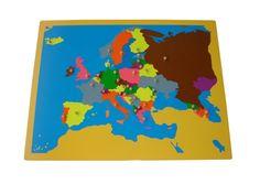Montemama - Puzzle - Európa