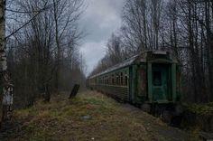 Ghost train, Russia