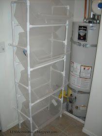 : Vertical PVC Laundry Sorter