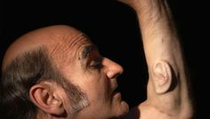 ARTIST'S 3RD EAR, HAND - SO PEOPLE CAN LISTEN IN TO HIM;Anti-Circumcision ART