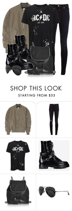 """""""Style #11768"""" by vany-alvarado ❤ liked on Polyvore featuring Fear of God, Closed, Topshop, Valentino, STELLA McCARTNEY and Ray-Ban"""