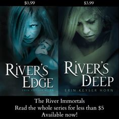 Now you can read the whole River Immortals series for less than $5! Perfect for your spooky Halloween reads!