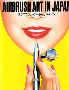 Airbrush Art in Japan - Hideo Pedro Yamashita
