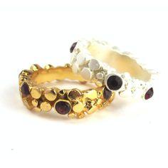 // Vergara Collection - Cetus Ring Gold - PAJAROLIMON Ring Designs, Cuff Bracelets, Gold Rings, Stud Earrings, Collection, Jewelry, Jewlery, Jewerly, Stud Earring